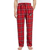 Concepts Sport Men's Portland Trail Blazers Plaid Flannel Pajama Pants