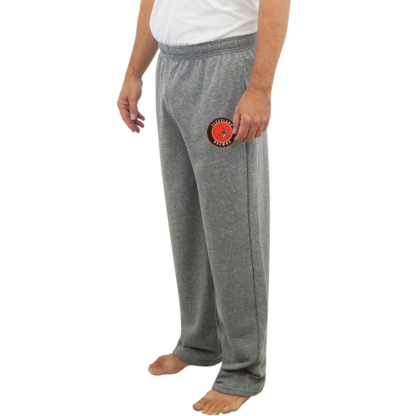 Concepts Sport Men's Cleveland Browns Mainstream Grey Sweatpants