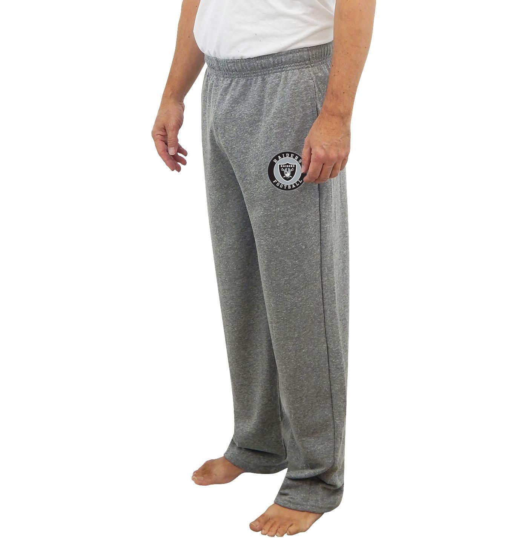 Concepts Sport Men's Oakland Raiders Mainstream Grey Sweatpants