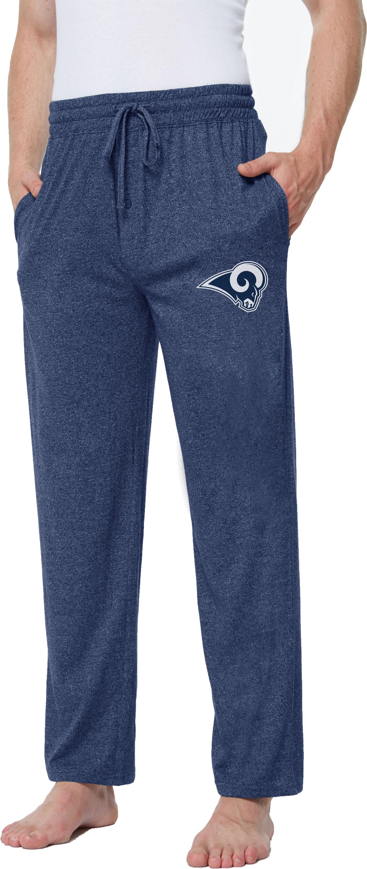 Concepts Sport Men's Los Angeles Rams Quest Navy Jersey Pants