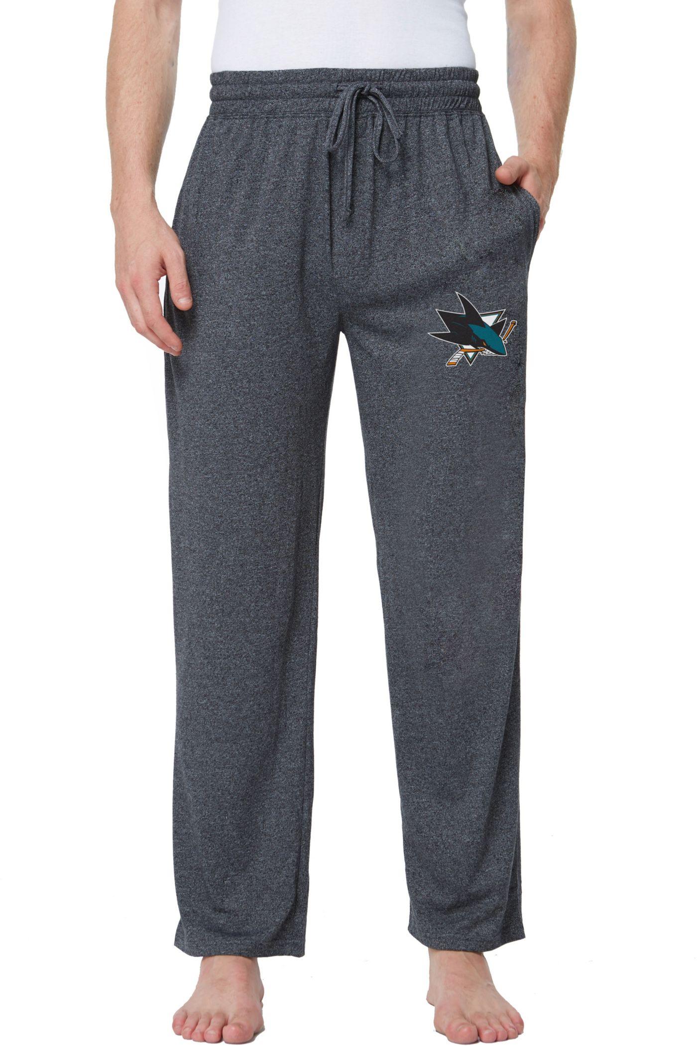 Concepts Sport Men's San Jose Sharks Quest  Knit Pants
