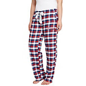 Concepts Sport Women's Atlanta Braves Plaid Flannel Pajama Pants