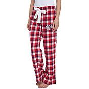 Concepts Sport Women's Washington Nationals Plaid Flannel Pajama Pants