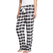 Concepts Sport Women's Chicago White Sox Plaid Flannel Pajama Pants