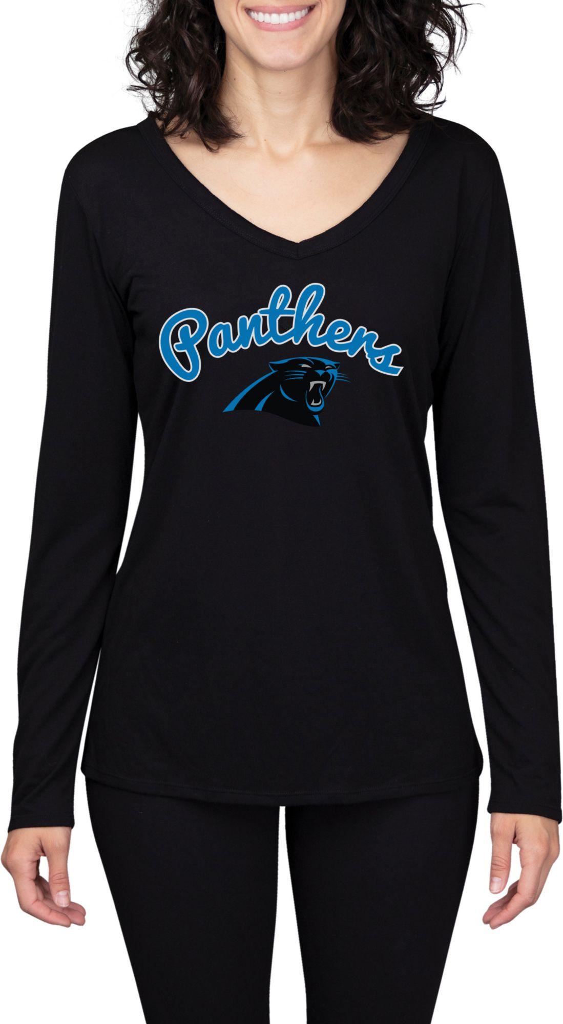 women's carolina panthers long sleeve shirt