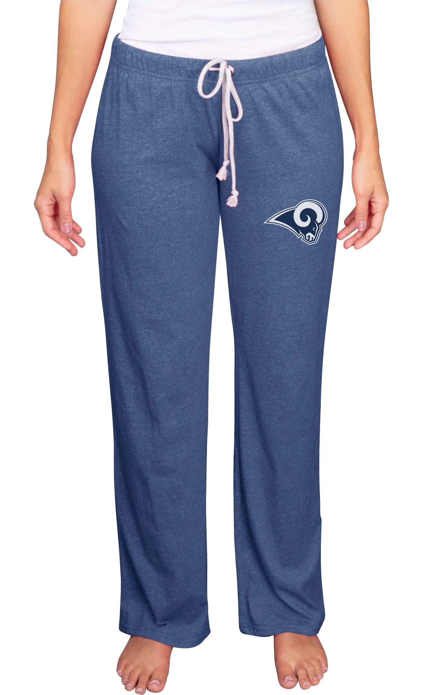 Concepts Sport Women's Los Angeles Rams Quest Navy Pants