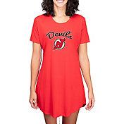 Concepts Sport Women's New Jersey Devils Marathon  Nightshirt