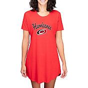 Concepts Sport Women's Carolina Hurricanes Marathon  Nightshirt