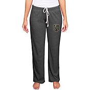 Concepts Sport Women's Vegas Golden Knights Quest  Knit Pants