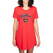 Concepts Sport Women's Florida Panthers Marathon  Nightshirt