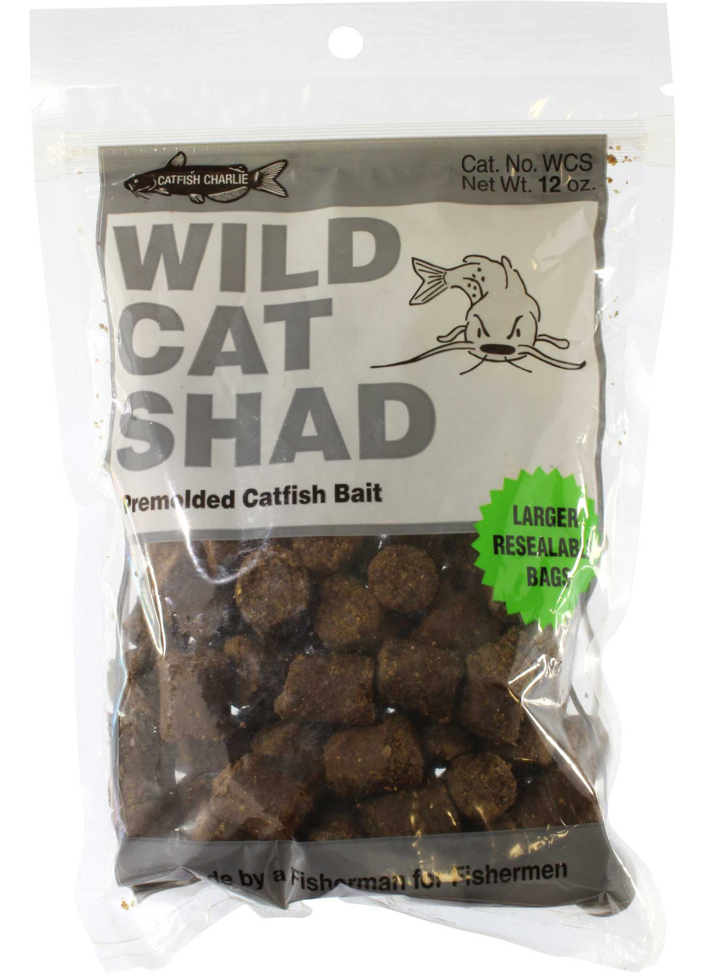 Catfish Charlie 12 oz. Wildcat Shad Dough Balls