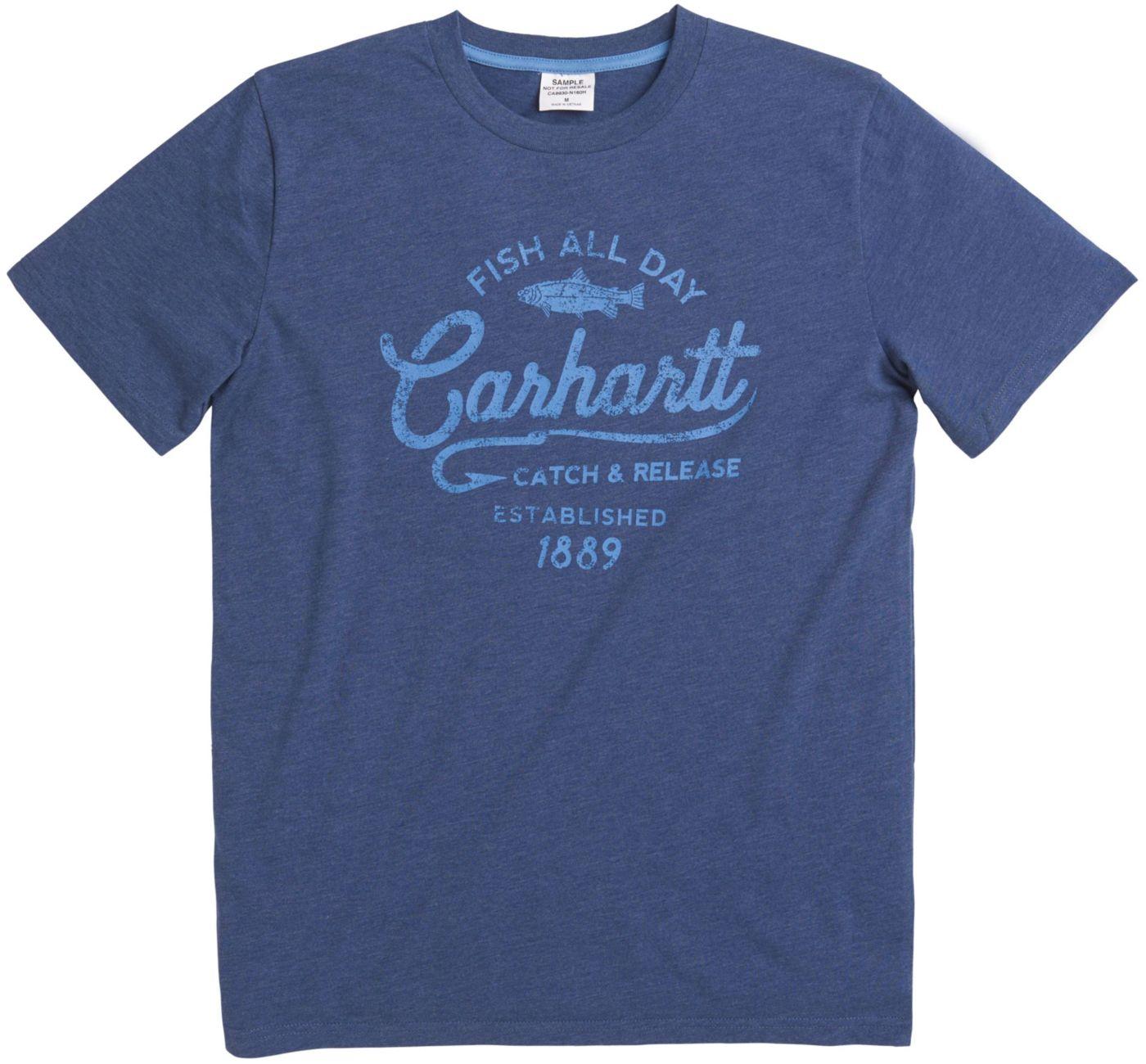 Carhartt Little Boys' Fish All Day T-Shirt
