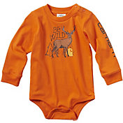Carhartt Infant Boys' Long Sleeve Be Wild Bodyshirt