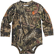 Carhartt Infant Boys' Long Sleeve Camo Bodyshirt
