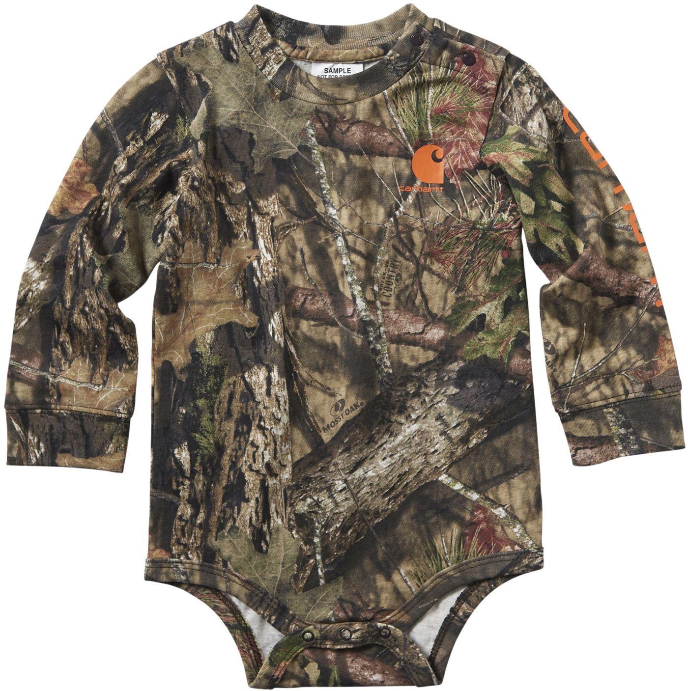 Carhartt Infant Boys' Long Sleeve Camo Bodyshirt