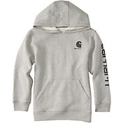 Carhartt Little Boys' Logo Fleece Zip Up Hoodie