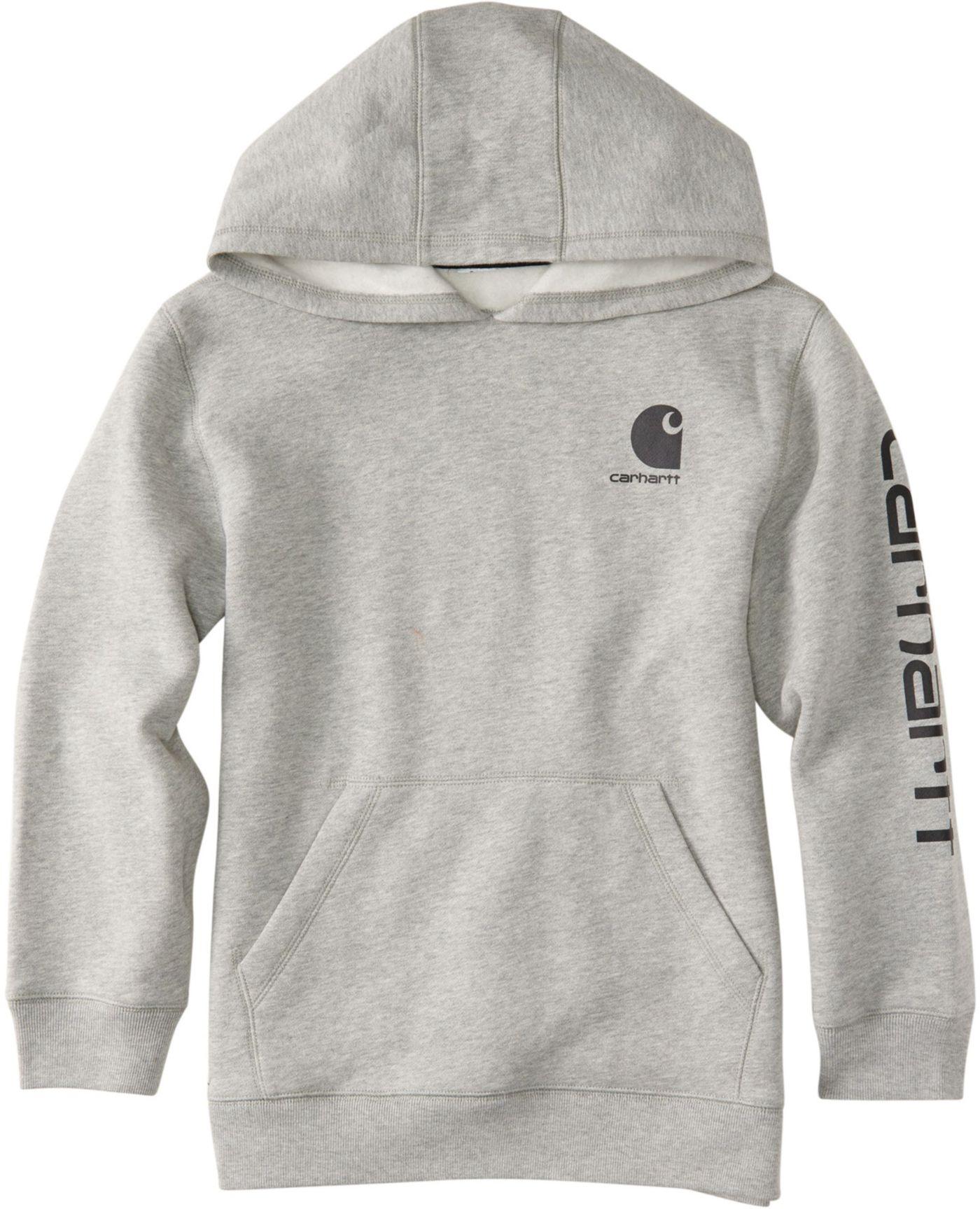 Carhartt Little Boys' Logo Fleece Zip Up Hoodie