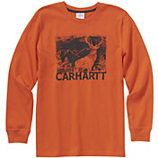 Carhartt Boys' Deer Silhouette Long Sleeve T-Shirt