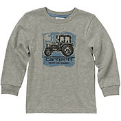 Carhartt Little Boys' Long Sleeve Farm and Ranch T-Shirt