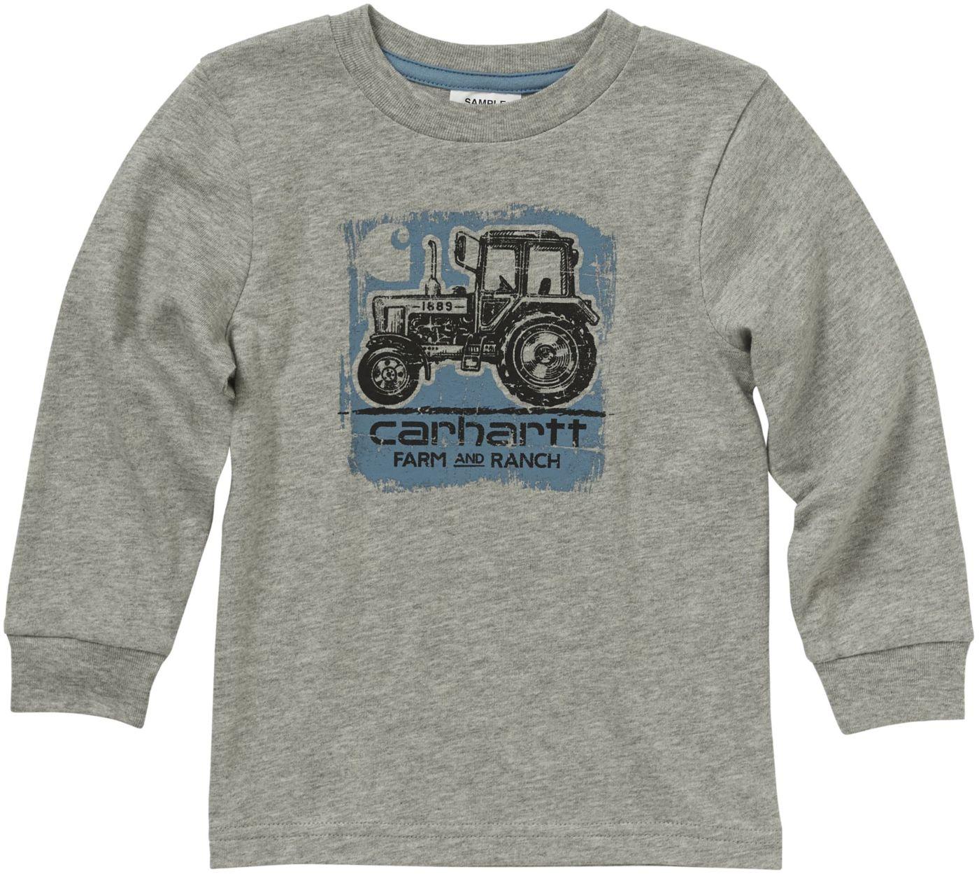 Carhartt Little Boys' Long Sleeve Farm and Ranch T-Shirt