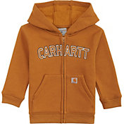 Carhartt Toddler Boys' Logo Fleece Zip Hoodie
