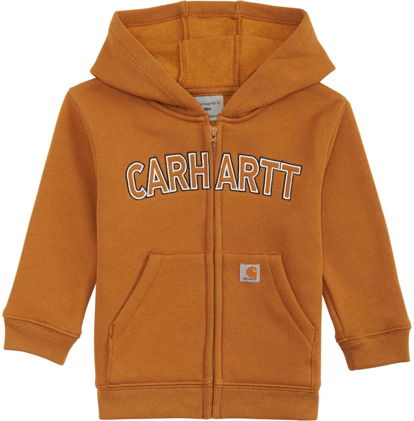 Carhartt Toddler Boys' Logo Fleece Zip Hoodie