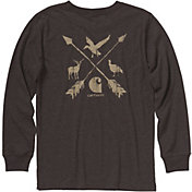 Carhartt Boys' Long Sleeve Multi Sport T-Shirt