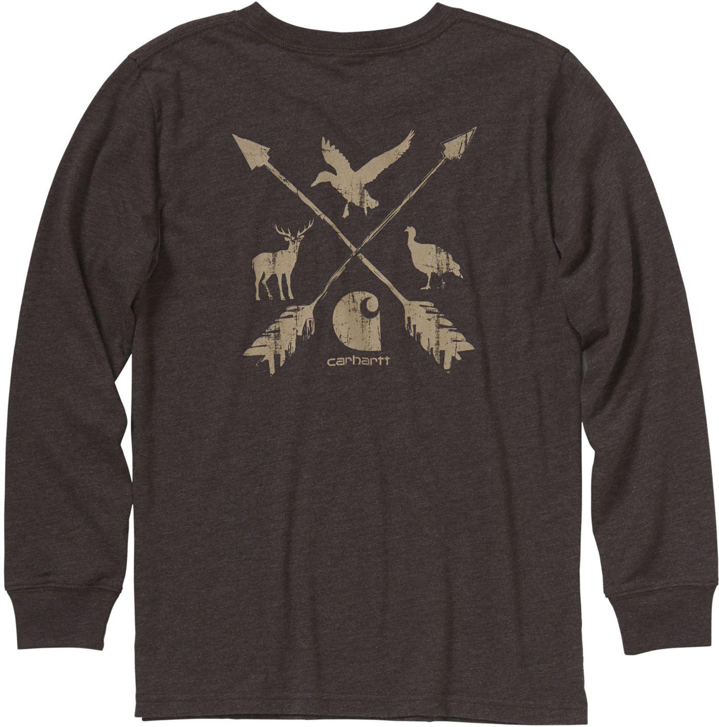Carhartt Boys' Long Sleeve Multi Sport T-Shirt