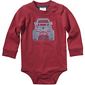 Carhartt Infant Boys' Long Sleeve Monster Truck Bodyshirt