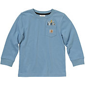 Carhartt Little Boys' Tool Pocket Long Sleeve T-Shirt