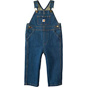 Carhartt Toddler Boys' Washed Denim Bib Overall