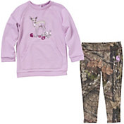 Carhartt Infant Girls' Camo 2-Piece Legging Set