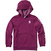 Carhartt Girls' Heather Fleece Hoodie