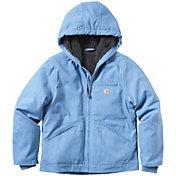 Carhartt Girls' Sherpa Lined Sierra Hooded Jacket