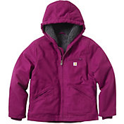 Carhartt Girls' Sherpa Lined Sierra Hooded Jacket