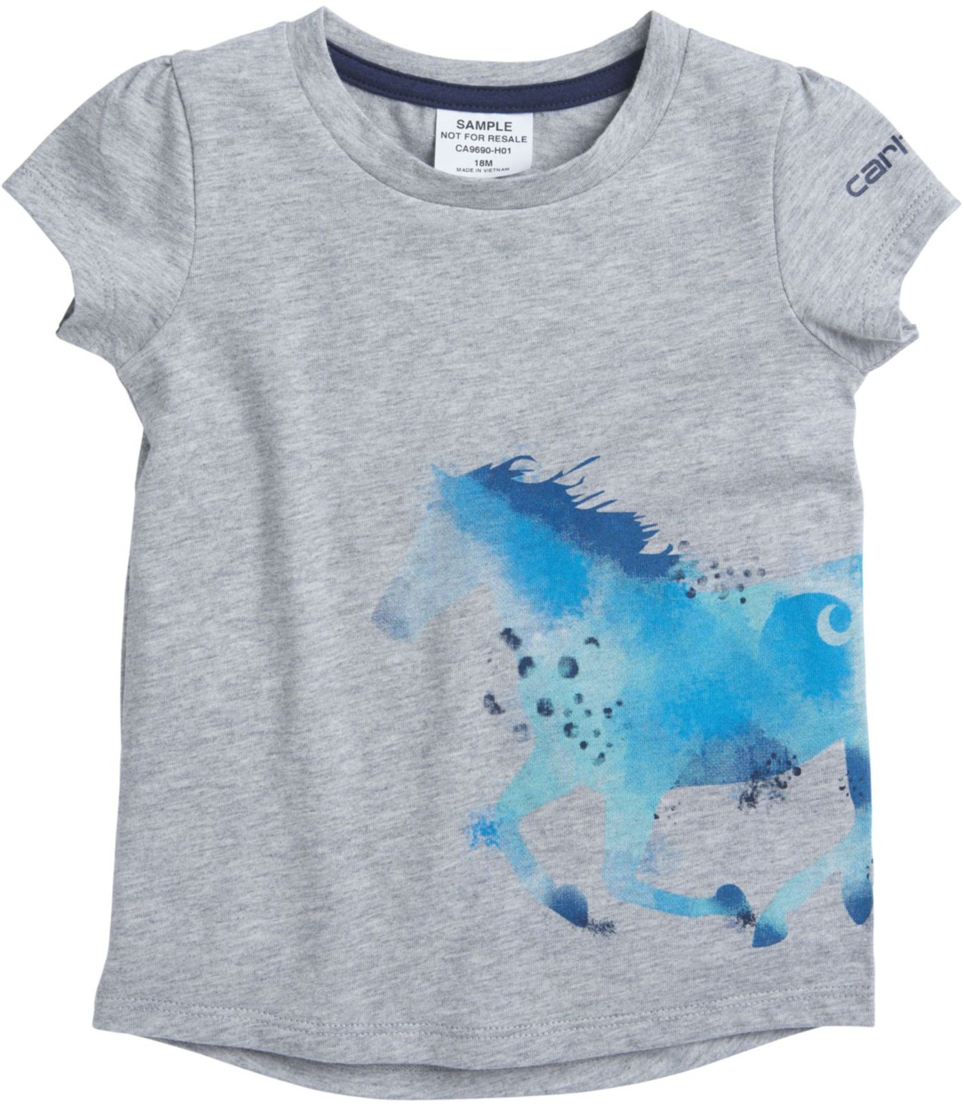 Carhartt Toddler Girls' Horse Wrap T-Shirt