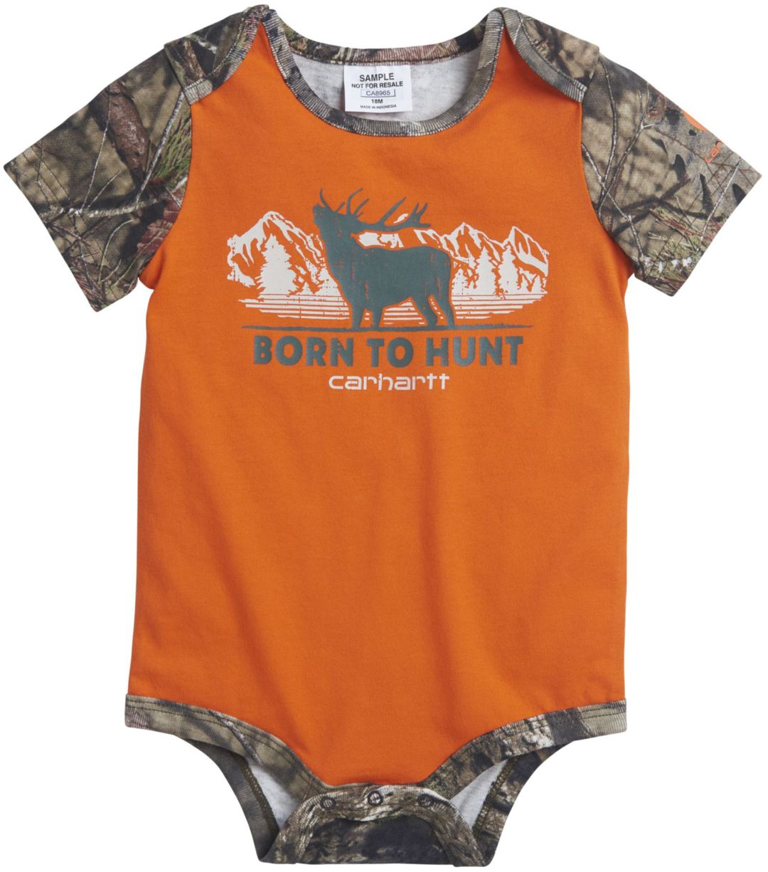 c4caede61 Carhartt Infant Boys' Born to Hunt Onesie | Field & Stream