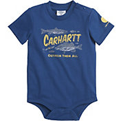 Carhartt Infant Boys' Outfish Them All Onesie