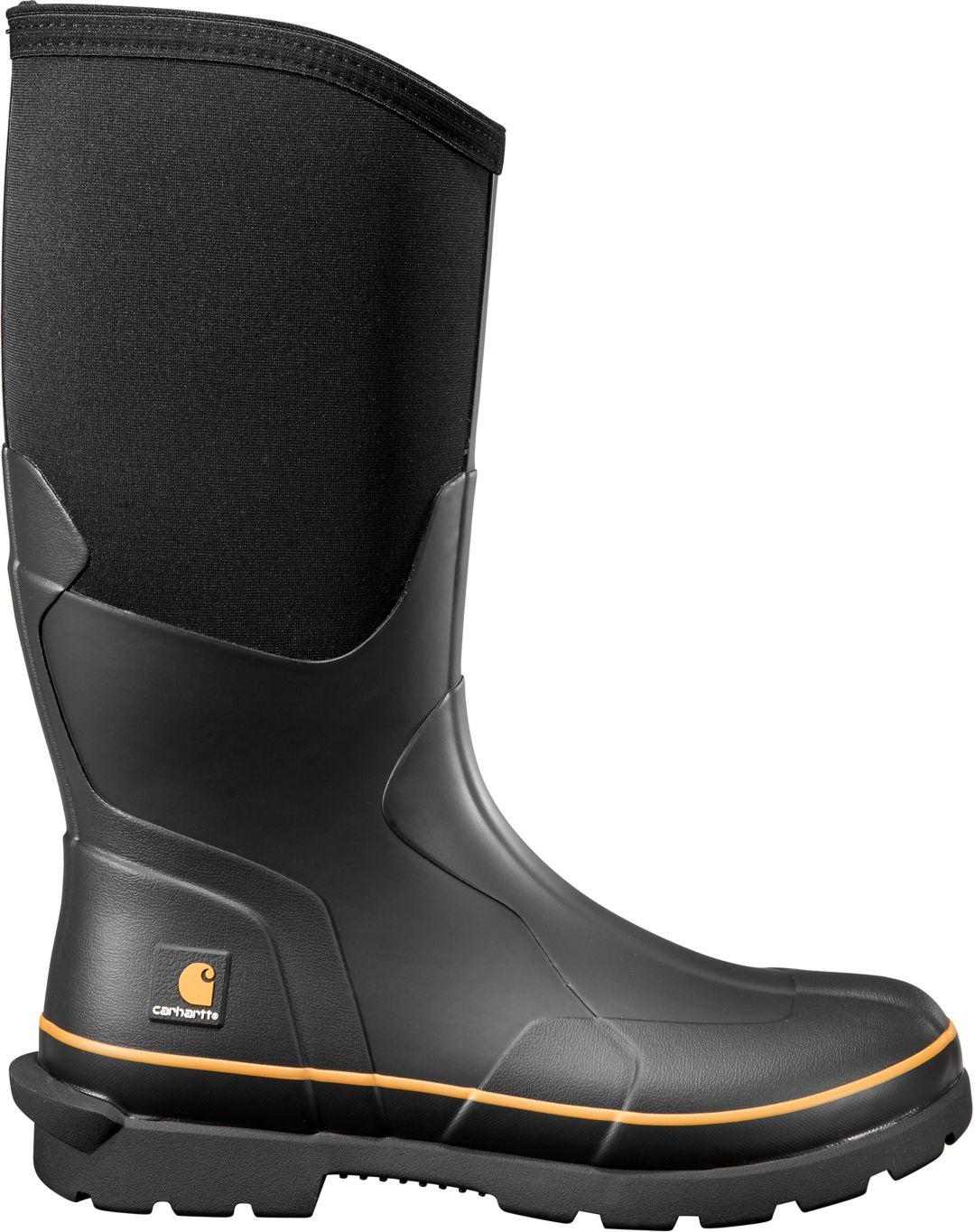 f0a970874bb Carhartt Men's 15'' Rubber Boots