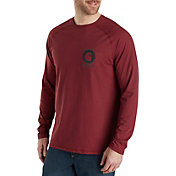 Carhartt Men's Force Cotton Delmont Graphic Long Sleeve Shirt (Regular and Big & Tall)