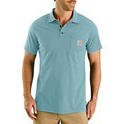 Carhartt Men's Force Cotton Delmont Pocket Polo