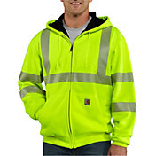 Carhartt Men's High Visibility Zip-Up Class 3 Thermal Lined Hoodie