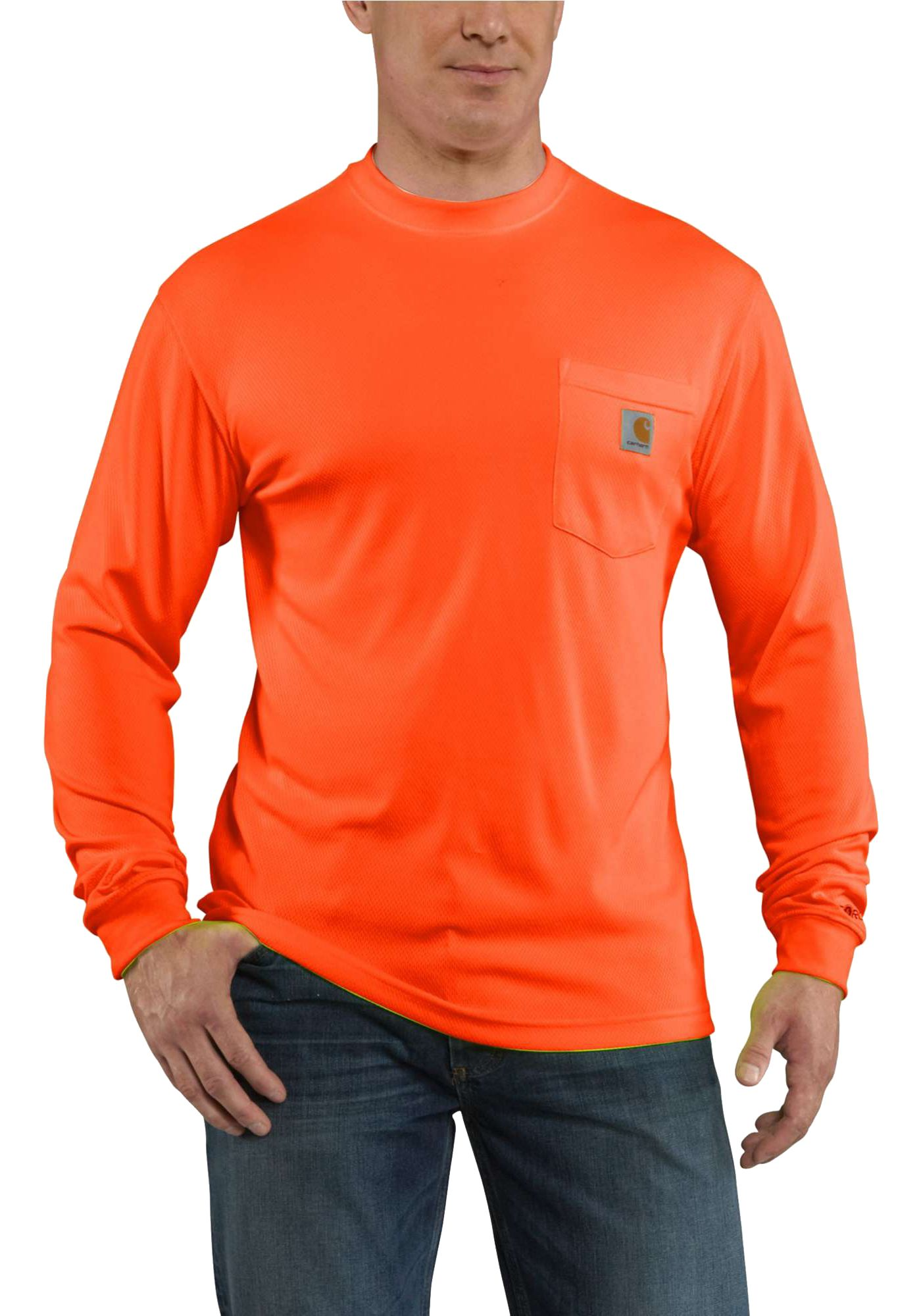 Carhartt Men's Force Color Enhanced Long Sleeve T-Shirt