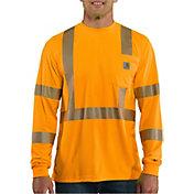 Carhartt Men's Force High-Visibility Long Sleeve Class 3 T-Shirt
