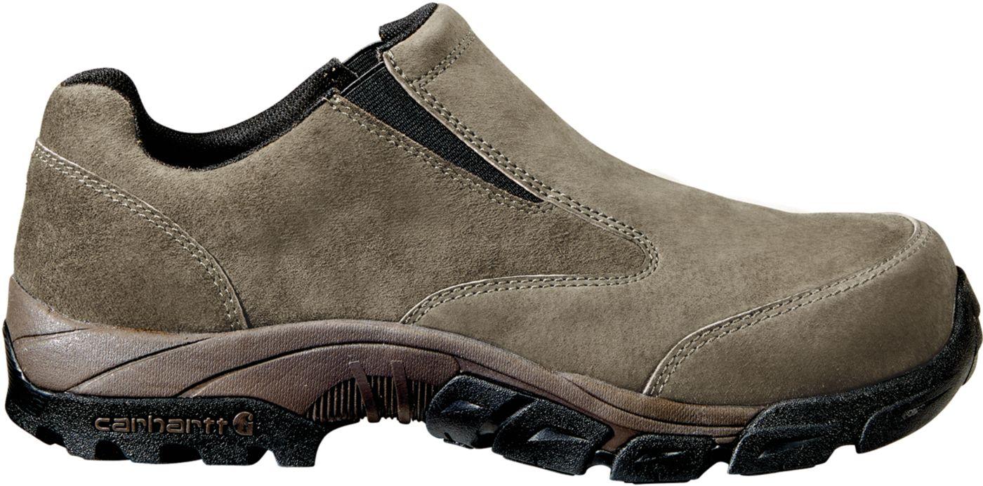 Carhartt Men's Lightweight Suede Slip-On Carbon Nano Toe Work Shoes