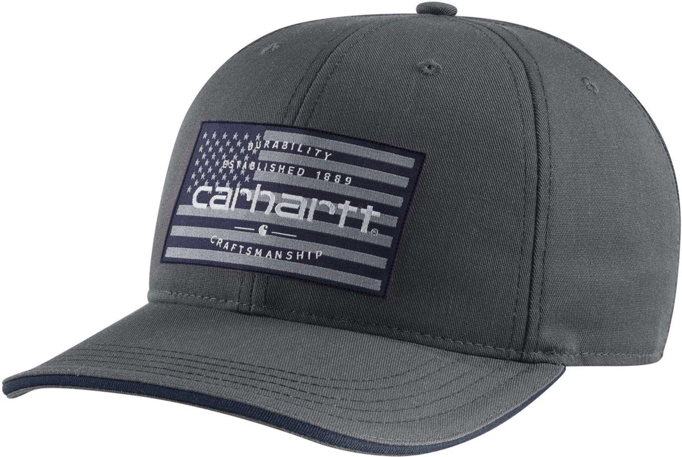 Carhartt Men's American Flag Hat
