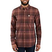 Carhartt Mens Rugged Flex Hamilton Plaid Shirt