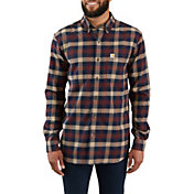 Carhartt Mens Rugged Flex Hamilton Plaid Shirt