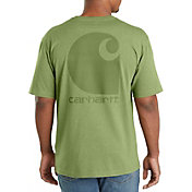 Carhartt Men's Workwear Logo Graphic Pocket T-Shirt