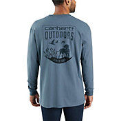 Carhartt Men's Workwear Dog Graphic Long Sleeve Pocket T-Shirt